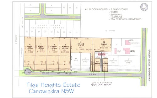 McDonald Lane, Canowindra NSW 2804