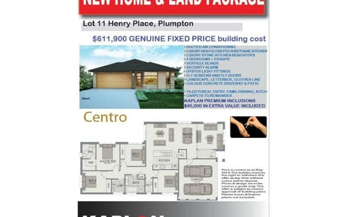 Lot 11 Henry Place, Plumpton NSW 2761