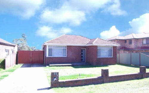16 Sherwood Street, Revesby NSW