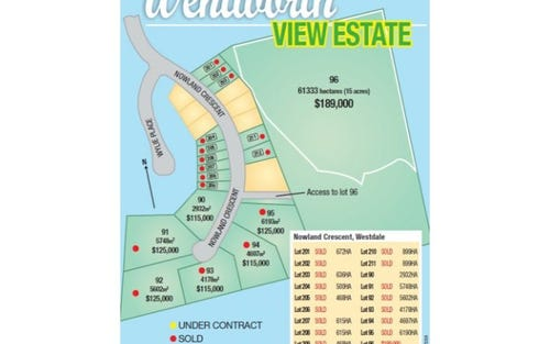 Lot 96 Wentworth View Estate, Nowland Crescent, Tamworth NSW 2340