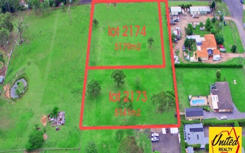 Lot 2173 & 2174 Yorkshire Close, Catherine Field NSW 2557