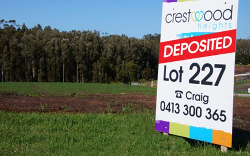 Lot 227, Horizons Parkway, Crestwood Heights, Port Macquarie NSW 2444