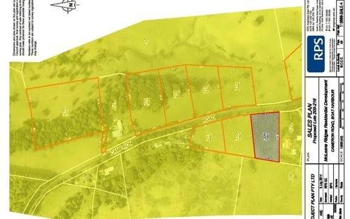 Lot 209 Cameron Park, Mcleans Ridges NSW 2480