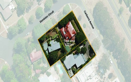 14 & 16 Dominion Circuit & 24 Canberra Avenue, Forrest ACT 2603