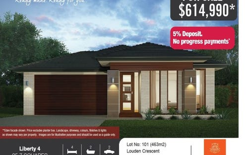 Lot 101 Louden Crescent, Cobbitty NSW 2570