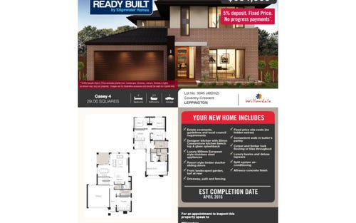 LOT 3046 Islington Street, Leppington NSW 2179