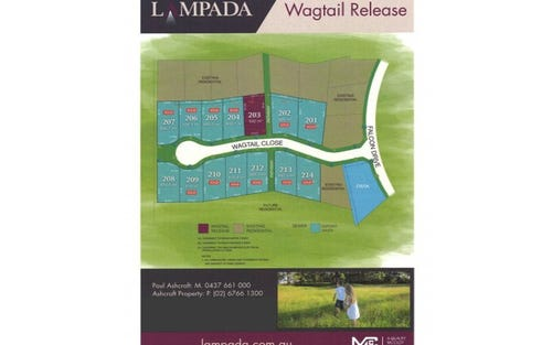 Lot 208 Lampada Estate Wagtail Release, Tamworth NSW 2340