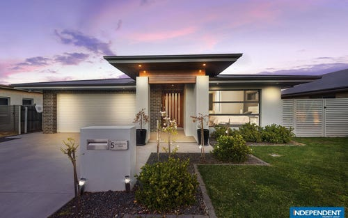 5 Les Edwards Street, Forde ACT 2914