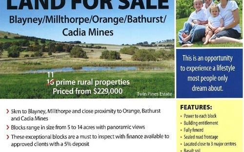 - Browns Creek Road, Blayney NSW 2799