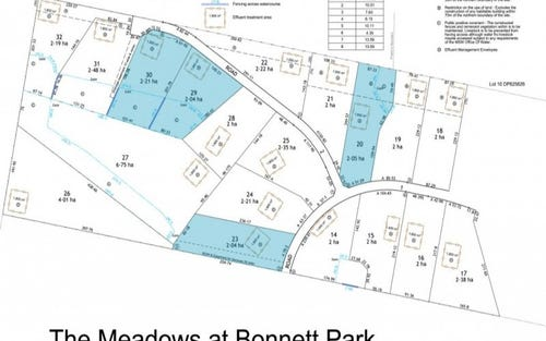 Lot 20,23, Run O Waters Drive, Goulburn NSW 2580