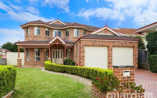 28 James Mileham Drive, Kellyville NSW 2155