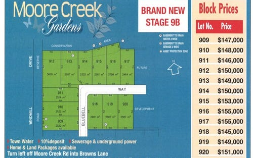 Lot 918 Bluebell Way, Tamworth NSW 2340
