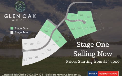 Lot 36 - 42 HILLRIDGE CLOSE, Glen Oak NSW 2320