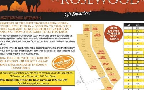 Rosewood Estate, Tamworth NSW 2340