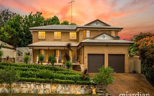 4 Braekell Place, Kellyville NSW 2155