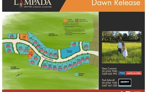 Lot 113 Lampada Estate Dawn Release, Tamworth NSW 2340