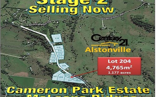 LOT 204, CAMERON ROAD, Mcleans Ridges NSW 2480