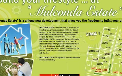 STAGE 1 Mulconda Estate (Main Listing), Tamworth NSW 2340