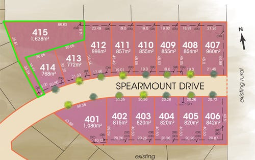 Lot 415 Spearmount Drive, Ben Venue NSW 2350