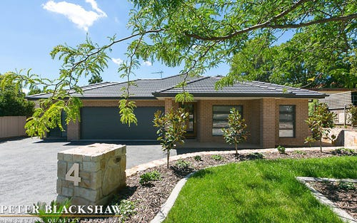 4 McPhee Place, Curtin ACT