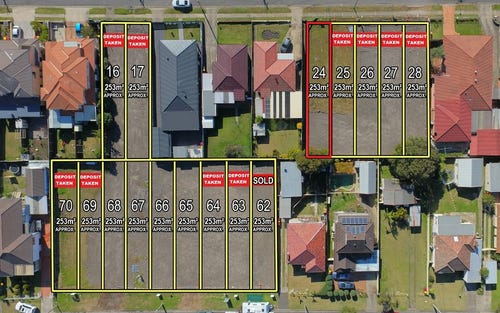 Lot 24, 168-172 Hawksview Street, Guildford NSW 2161