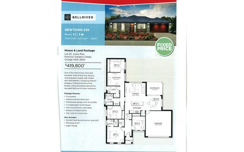 Lot 55 Jessie Rise, Orange NSW 2800