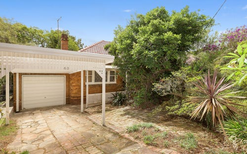 63 Grosvenor Rd, Lindfield NSW 2070