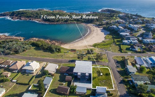 2 Ocean Parade, Boat Harbour NSW 2316