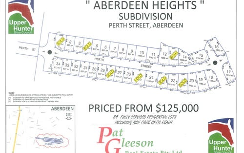 Lot 1-34 Perth Street, Aberdeen NSW 2336