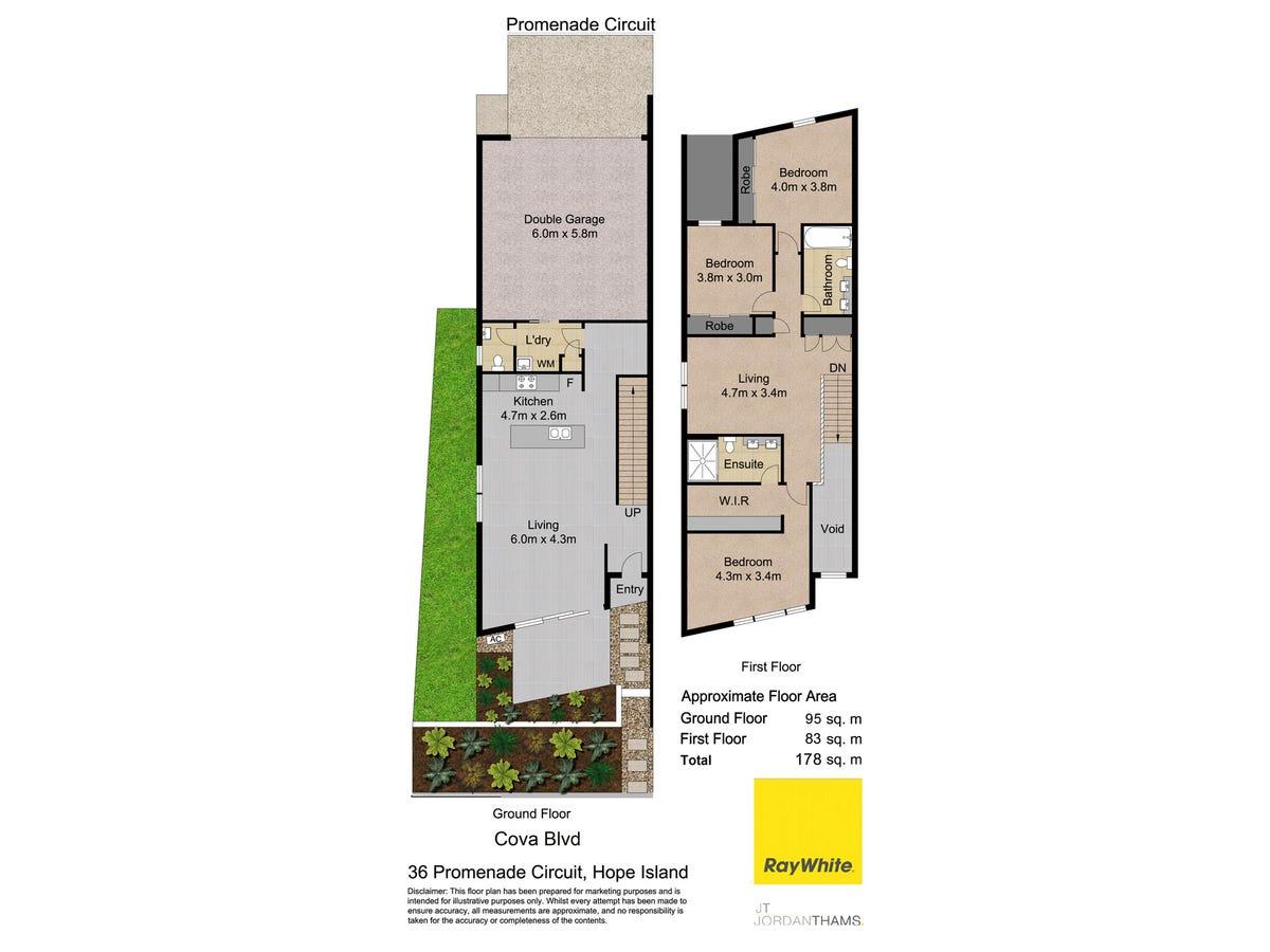 36 Promenade Circuit, Hope Island QLD 4212 floorplan